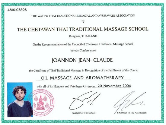 Oil Massage and Aroma Therapy